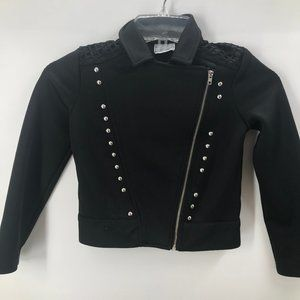Like New D0signed black bold spirit knit jacket